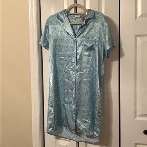 Silky nightgown